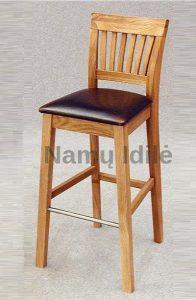 """Ąžuolinė baro - pusbario kėdė """"VERUS"""""""