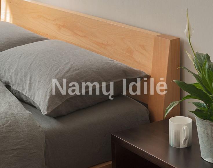 """Medinė lova """"ELITE"""". Masyvo mediniai baldai. Medinės lovos. Klasikinės lovos."""