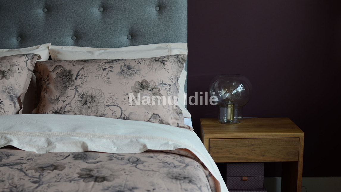 """Medinė lova """"KARMEN"""". Masyvo mediniai baldai. Medinės lovos. Minkštos lovos."""