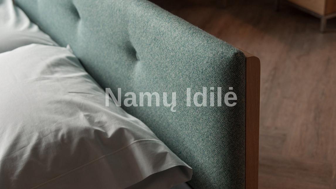 """Medinė lova """"KARMEN"""". Masyvo mediniai baldai. Medinės lovos. Minkšti baldai."""