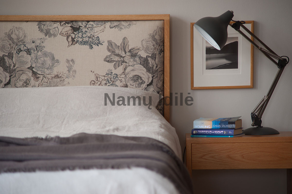 """Medinė lova """"MARGO"""". Masyvo mediniai baldai. Medinės lovos. Uosinės lovos."""