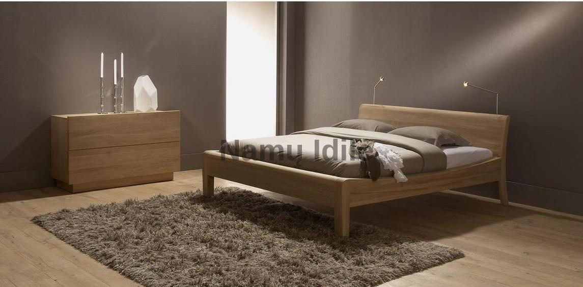 """Medinė lova """"SAPNAS"""". Masyvo mediniai baldai. Medinės lovos. Pigios lovos."""