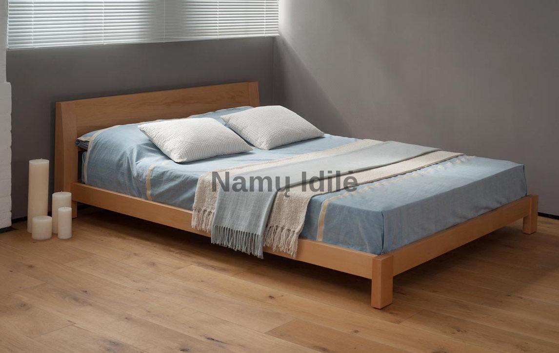 """Ąžuoliniai baldai. Medinė lova """"Bona"""". Masyvo mediniai baldai iš ąžuolo. Medinės lovos."""